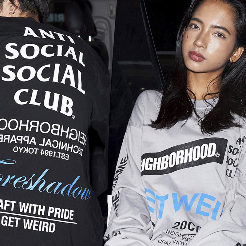 Neighborhood x Anti Social Social Club Collaboration Collection Lookbook & Release Information