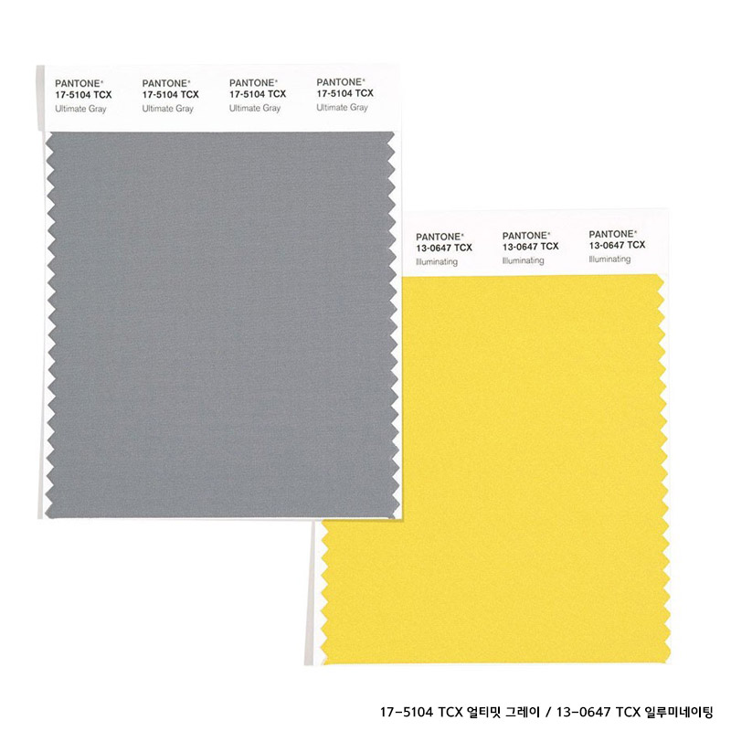 Pantone's'Color of 2021' is'Ultimate Gray' &'Illuminating'
