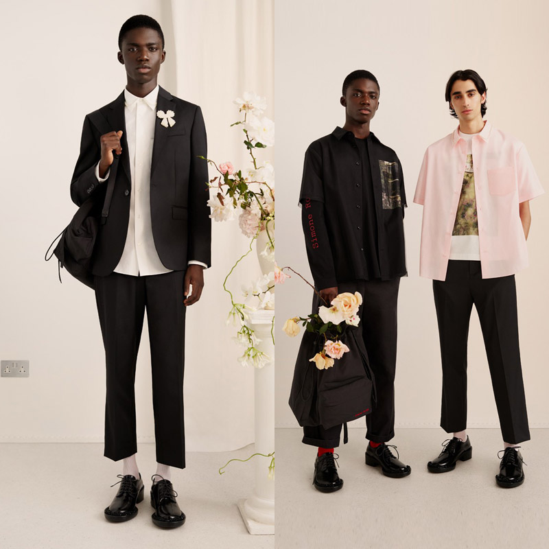 Simon Rocha x H & M capsule collection lookbook and domestic release information expressing the beauty of plants