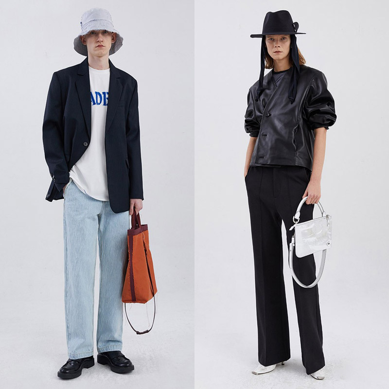 Arthur pays attention to deconstructivism, the spring and summer 2021 collection'Layering Time'